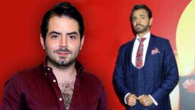 """""""No, ya hubiera cortado"""": José Eduardo Derbez dice por qué no le pide consejos de amor a su papá"""