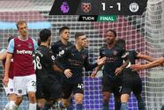 Manchester City no puede ante un West Ham que anotó un golazo