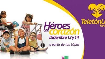 ¡Únete al Teletón USA y conviértete en un 'Héroe con Corazón'!