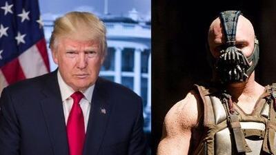 Trump citó involuntariamente en su discurso a Bane, el malvado de Batman