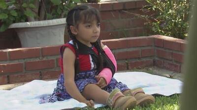 """La comunidad de Los Ángeles se desborda para ayudar a la niña con """"huesos de cristal"""""""