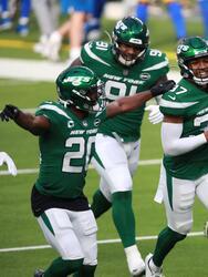 Sam Darnold tiene un partido sin intercepciones, y los Jets consiguen la primer victoria de la campaña 23-20 sobre los poderosos Rams.