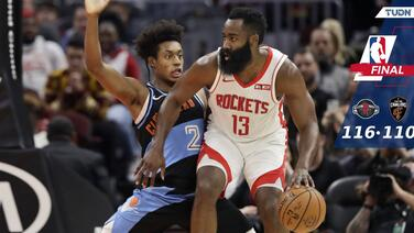 James Harden se despacha con la cuchara grande por Houston