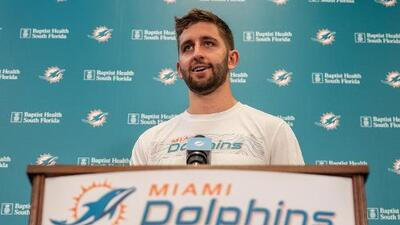 Josh Rosen, listo para pelear por el puesto de quarterback titular en Miami