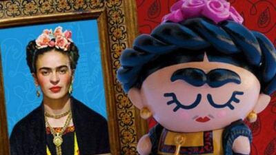 Frida Kahlo se convierte en muñeca con la ayuda de una impresora 3D