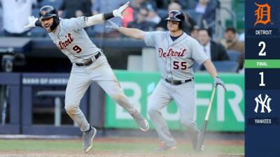 Matthew Boyd 'ató de las manos' a los Yankees en la victoria de los Tigers