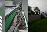 Clima provocó destrozos en estadio de la Superliga Argentina