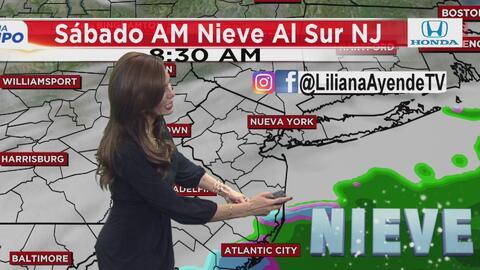 Nueva York se librará de la nieve durante este fin de semana