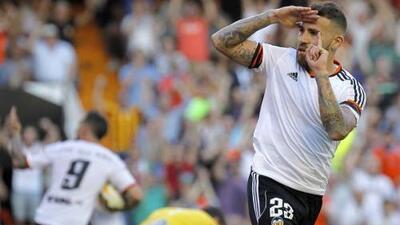 Valencia 1-1 Celta: El Valencia no cierra su presencia en 'Champions'