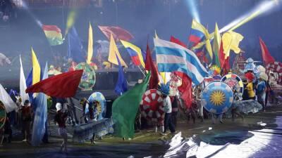 En fotos: la ceremonia inaugural de la Copa América se vivió en el Estadio Morumbí