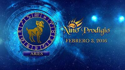 Niño Prodigio - Aries 3 de febrero, 2016