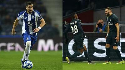Porto sueña con el pase a Cuartos y Real Madrid quiere reivindicarse con el Santiago Bernabéu