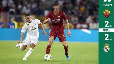 Real Madrid cae en penales ante la Roma