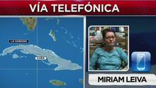 """Miriam Leiva, fundadora de Las Damas de Blanco: """"La crisis que viene, y que seguirá, este año es extraordinaria"""""""