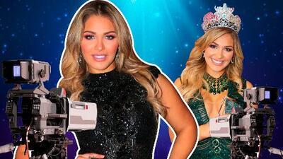 A pocos días de haberse coronado como reina de NBL, Migbelis Castellanos regresa a la televisión