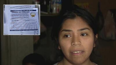 """""""Tocaron la puerta y no les abrí"""": joven narra que recordó sus derechos al ver a los agentes de ICE por la ventana"""