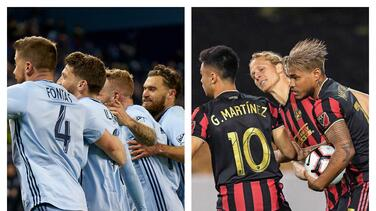 Atlanta United FC y Sporting Kansas City juegan sus cartas fuera de Estados Unidos