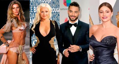 Los 30 latinos más ricos en el mundo del espectáculo