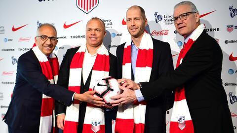 La selección de Estados Unidos presentó a Gregg Berhalter como su nuevo técnico