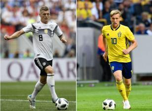 En fotos: Alemania busca recuperar terreno a costa de Suecia en el Grupo E
