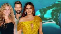 Ricky Martin, Shakira, Beyoncé y otros 8 famosos dueños de su isla privada