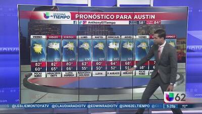Incremento en las temperaturas en Austin