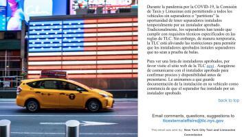 Malestar entre taxistas y choferes por requisito de TLC ante crisis de COVID-19