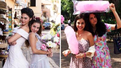 Fiorella y Gianna llegaron de Italia para enamorar a todos