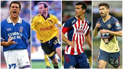 ¡Bienvenido a la lista Oribe Peralta! Los 10 históricos goleadores mexicanos de la Liga MX