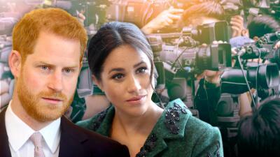 """Meghan Markle y el príncipe Harry enfrentan una """"burla"""" si no permiten la foto pública de su bebé en el hospital"""