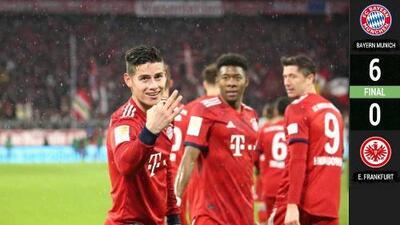 Bayern Munich 6-0 Mainz: revive los goles del partido
