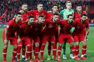 Soccer Football - Euro 2020 Qualifier - Group H - Turkey v Moldova - New Eskisehir Stadium, Eskisehir, Turkey - March 25, 2019 Turkey team group REUTERS/Murad Sezer