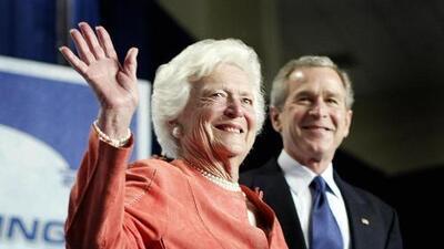 George W. y Jeb Bush se pronuncian tras la muerte de su madre Barbara
