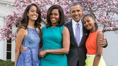 Un día de orgullo para la familia presidencial: Malia Obama se graduó de secundaria