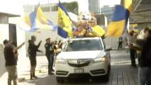 ¡Una locura! Canal de TV armó 'caravana' por triunfo de Tigres