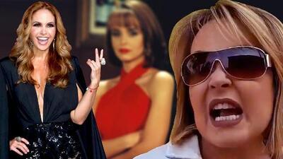Le dijeron a Gaby Spanic que Lucero podría protagonizar el remake de 'La usurpadora' y mira su reacción