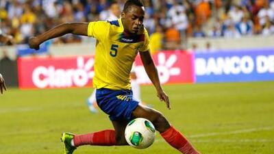 En América mostraron claro respaldo a Renato Ibarra
