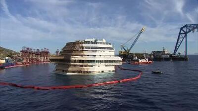 """Schettino expresa """"dolor indeleble"""" en aniversario del naufragio del Costa Concordia"""