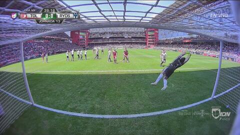 ¡Barovero se luce y evita el gol de Mancuello!