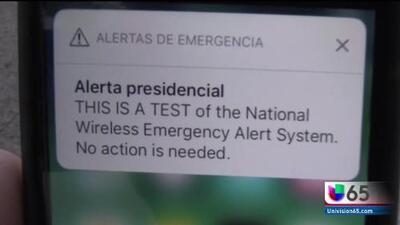 Gobierno realiza pruebas para enviar alerta presidencial