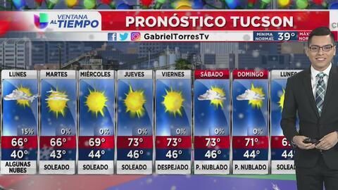 Se prevén temperaturas frescas para este lunes en Arizona