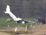 Avioneta se estrella en Fayetteville y deja a cuatro personas heridas