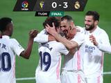 Real Madrid resuelve en 45 minutos ante el Cádiz y es líder en LaLiga