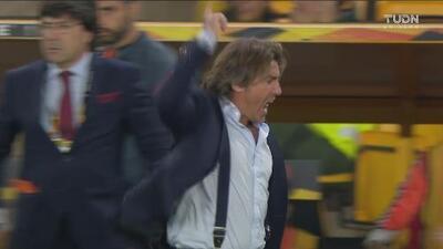 ¡Se desata la furia de la banca del Braga! Pedían penalti sobre Wenderson Galeno
