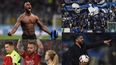 En fotos: Atalanta e Inter se aseguran en Champions, Milan a la Europa League y Empoli al descenso