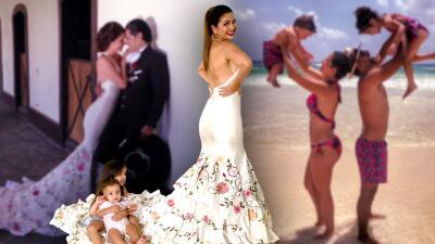 Ana Patricia celebra su quinto aniversario de matrimonio lejos de su esposo pero Giulietta y Gael la acompañan