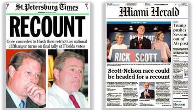 La historia se repite en las elecciones de Florida