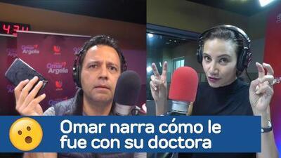 """La experiencia de Omar con su doctora: """"Casi me avienta el iPhone"""""""