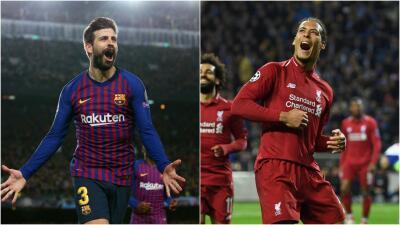 Barcelona-Liverpool es un duelo entre dos de los mejores defensas del mundo: Piqué y Van Dijk