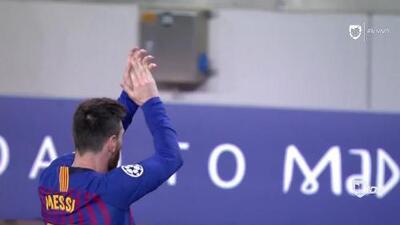 ¡GOOOL! Lionel Messi anota para Barcelona